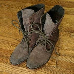 Free People | Lace Up Ankle Boots
